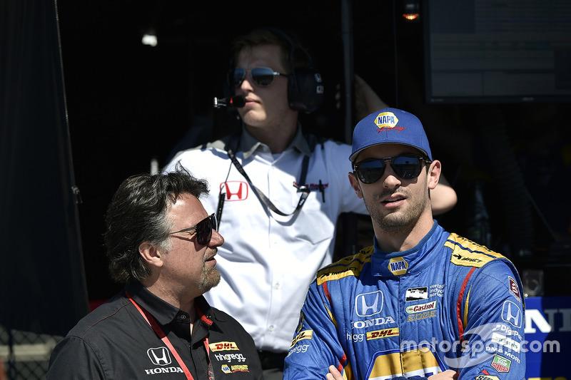 Michael Andretti; Alexander Rossi, Herta - Andretti Autosport, Honda