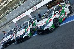Honda Civic Team Jas e Castrol Racing