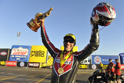 Pro Stock Bike winner Matt Smith