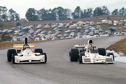 Wilson Fittipaldi, Brabham BT42 Ford; James Hunt, March 731 Ford