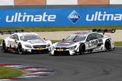 Crash: Paul Di Resta, Mercedes-AMG Team HWA, Mercedes-AMG C63 DTM; Tom Blomqvist, BMW Team RBM, BMW