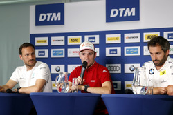Pressekonferenz, Gary Paffett, Mercedes-AMG Team HWA, Mercedes-AMG C63 DTM, Jamie Green, Audi Sport