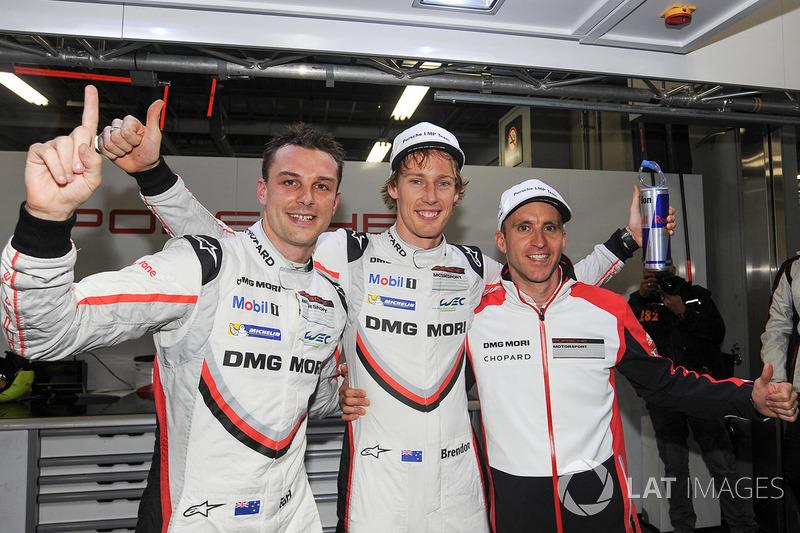 Polesitters #2 Porsche Team Porsche 919 Hybrid: Timo Bernhard, Earl Bamber, Brendon Hartley