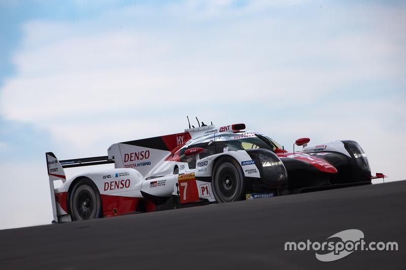#7 Toyota Gazoo Racing Toyota TS050 Hybrid: Майк Конвей, Камуі Кобаясі, Хосе Марія Лопес