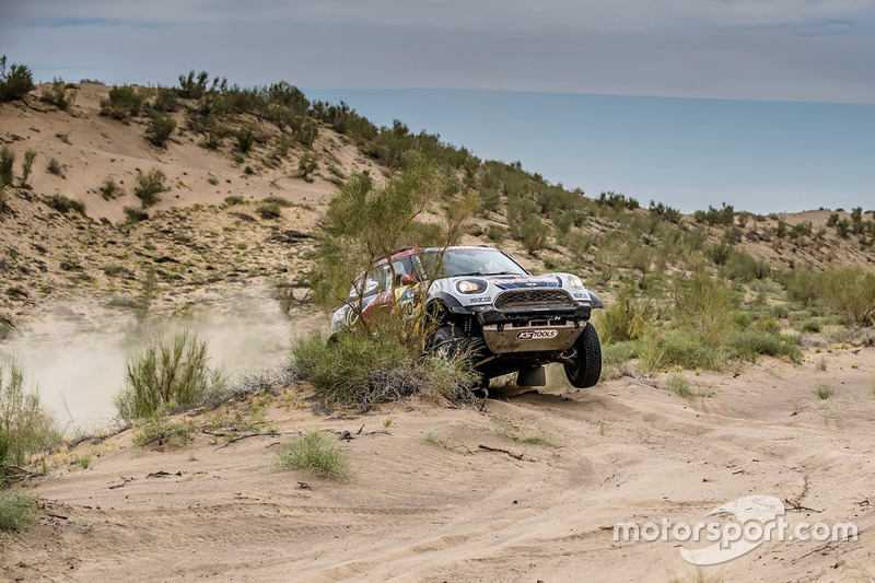 #105 X-Raid Team Mini: Bryce Menzies, Peter Mortensen