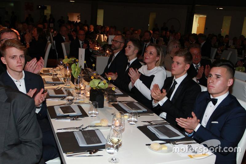 Sabine Kehm, Mick Schumacher, Joey Mawson