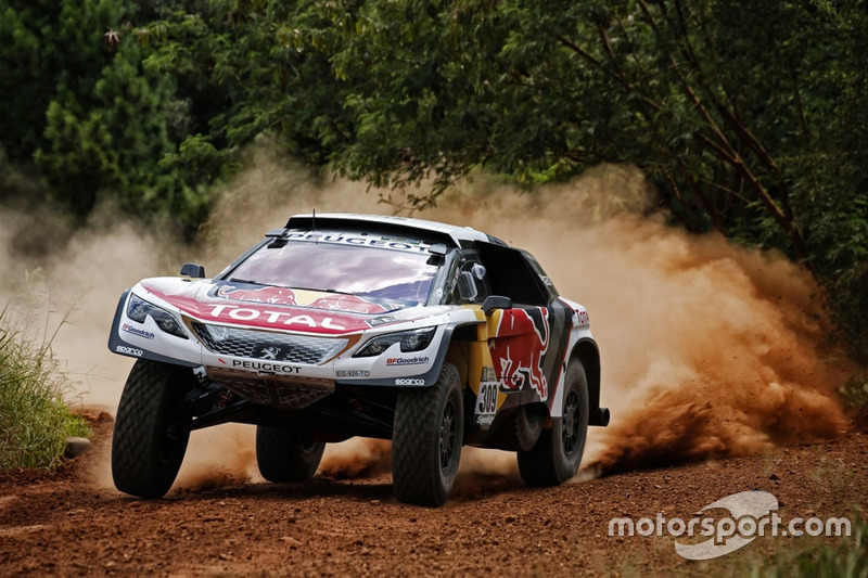 #309 Team Peugeot Sport, Peugeot 3008 DKR: Sébastien Loeb, Daniel Elena