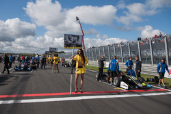 Chica de la parrilla, Lando Norris, Carlin, Dallara F317 - Volkswagen