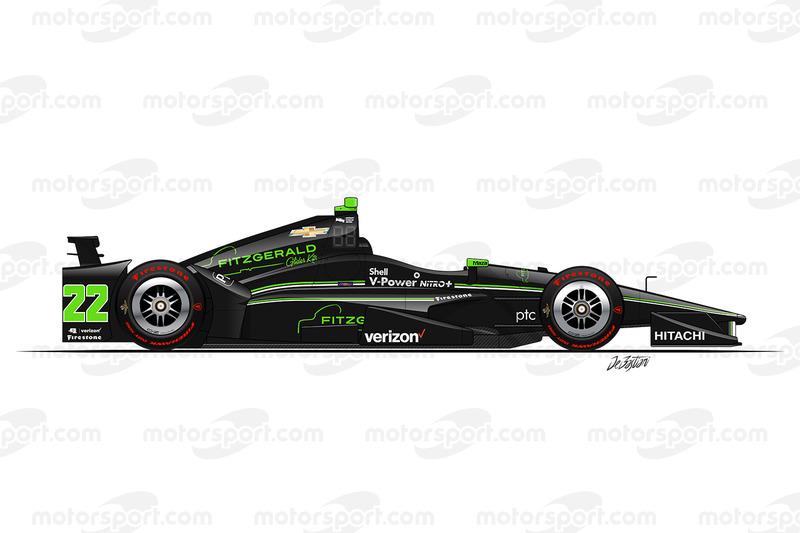 #22 - Juan Pablo Montoya, Team Penske Chevrolet