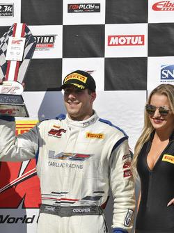 Podium: race winner Michael Cooper, Cadillac Racing