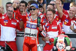 Le deuxième, Jorge Lorenzo, Ducati Team
