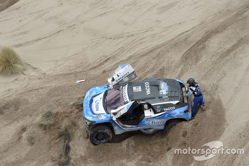 #318 Peugeot 3008 DKR: Romain Dumas, Alain Guehennec
