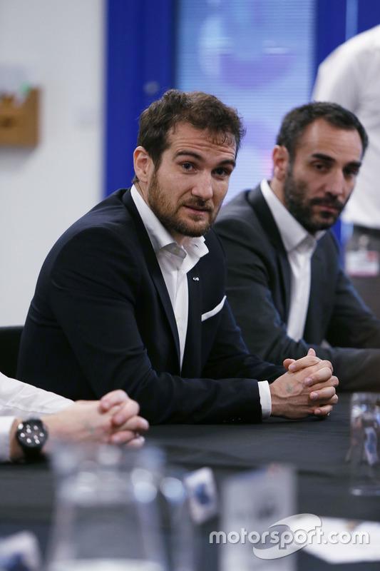 Cyril Abiteboul, Renault Sport F1 Team, Geschäftfsführer; Tommaso Volpe, Infiniti, Motorsportdirektor