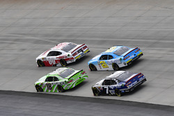 Cole Custer, Stewart-Haas Racing Ford, Justin Allgaier, JR Motorsports Chevrolet