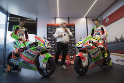Luca Marini, Forward Racing y Lorenzo Baldassarri, Forward Racing con nueva decoración