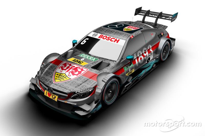 Robert Wickens, Mercedes-AMG Team HWA, Mercedes-AMG C63 DTM with VfB Stuttgart livery