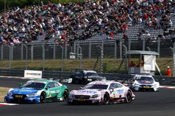 Loic Duval, Audi Sport Team Phoenix, Audi RS 5 DTM, Edoardo Mortara, Mercedes-AMG Team HWA, Mercedes