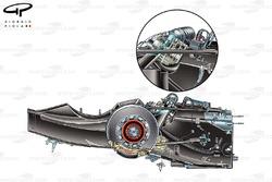 Brawn BGP 001 2009 gearbox detail