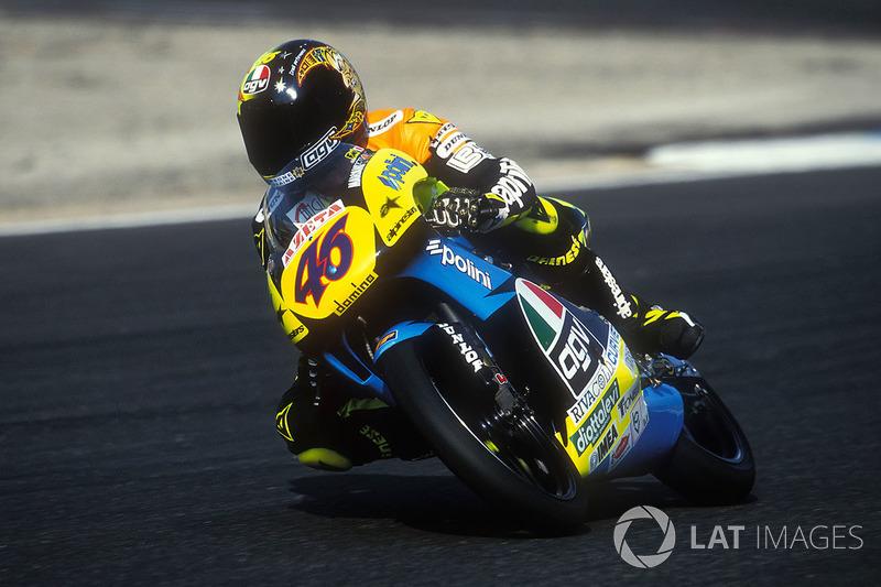 Malaisie 1996 - Valentino Rossi, première !