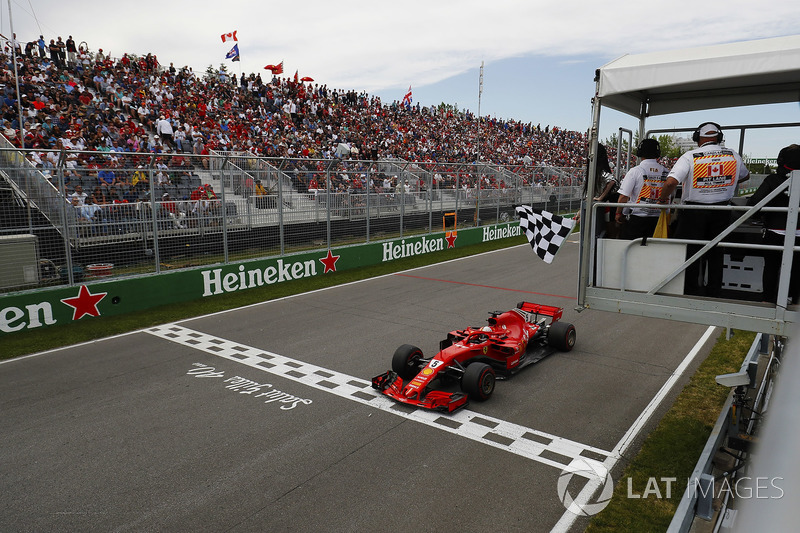 Erken sallanan damalı bayrak, Vettel'in kafasını karıştırmıyor