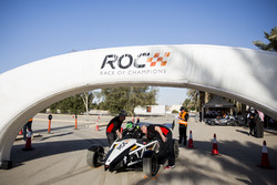 Ahmed Bin Khanen prepares to drive in ROC Factor Saudi Arabia