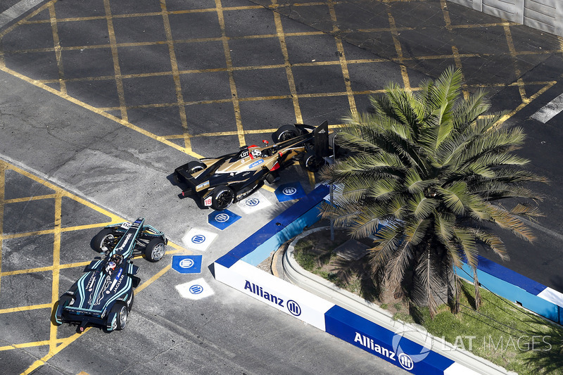 Andre Lotterer, Techeetah Mitch Evans, Jaguar Racing