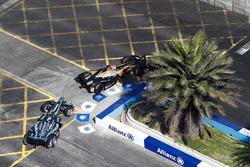 Андре Лоттерер, Techeetah, и Митч Эванс, Jaguar Racing