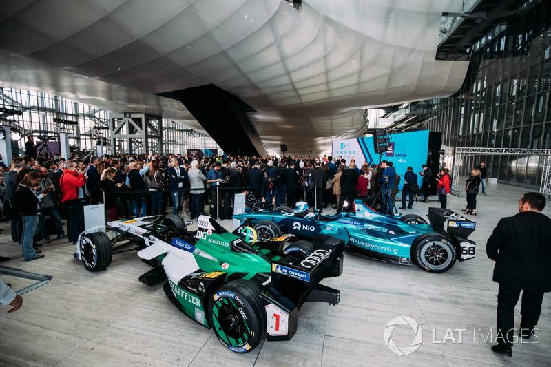 Lucas di Grassi, Audi Sport ABT Schaeffler, Luca Filippi, NIO Formula E Team