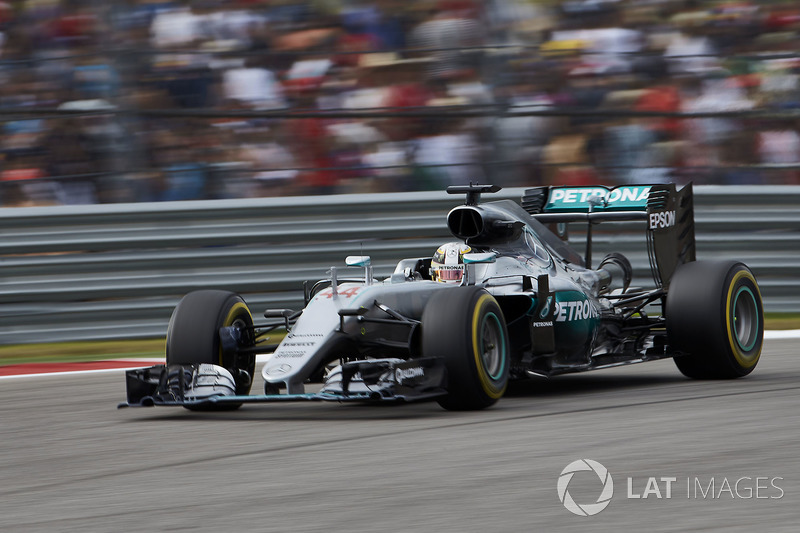2016 - Austin : Lewis Hamilton, Mercedes F1 W07 Hybrid