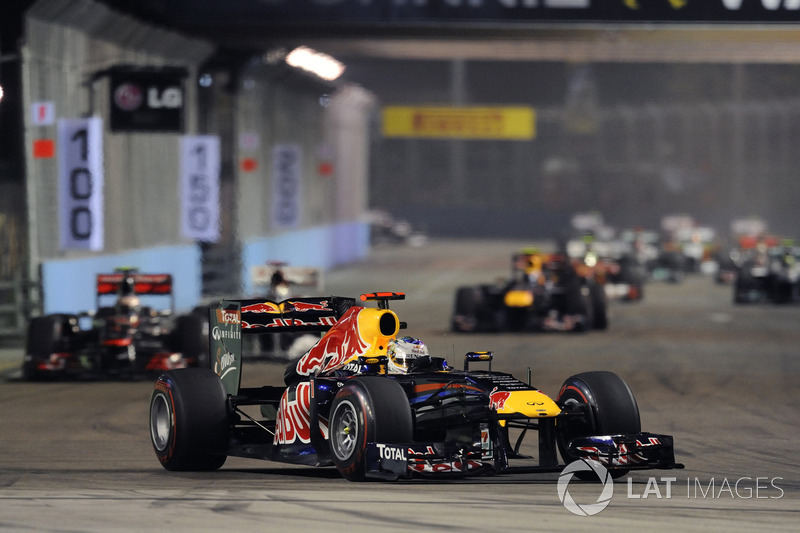 2011: Себастьян Феттель, Red Bull RB7 Renault