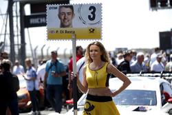 Grid girl of Paul Di Resta, Mercedes-AMG Team HWA