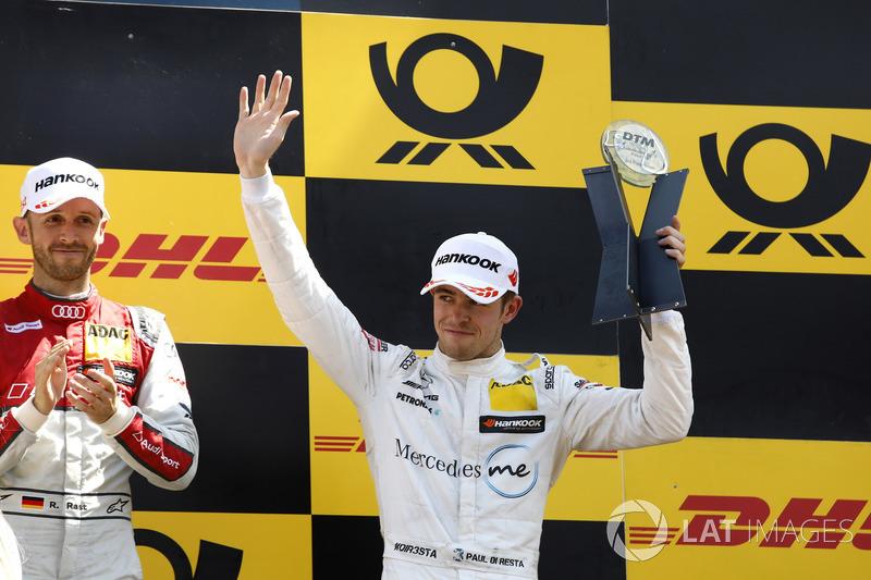 Podium: third place Gary Paffett, Mercedes-AMG Team HWA