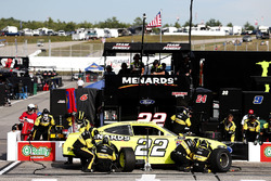 Brad Keselowski, Team Penske, Ford Mustang Menards/Richmond