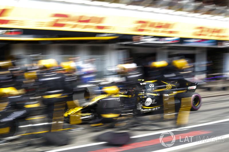 P12: Carlos Sainz Jr., Renault Sport F1 Team R.S. 18
