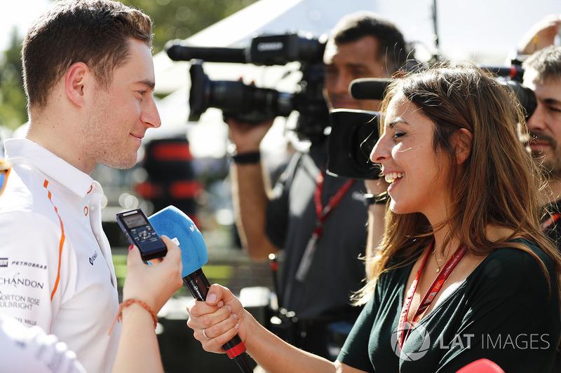 Stoffel Vandoorne, McLaren, röportaj veriyor