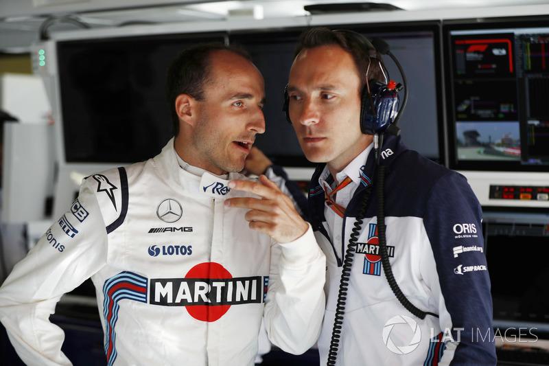 Robert Kubica, Williams Martini Racing