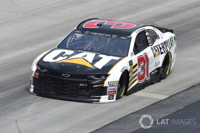 21. Ryan Newman, Richard Childress Racing, Chevrolet Camaro Caterpillar