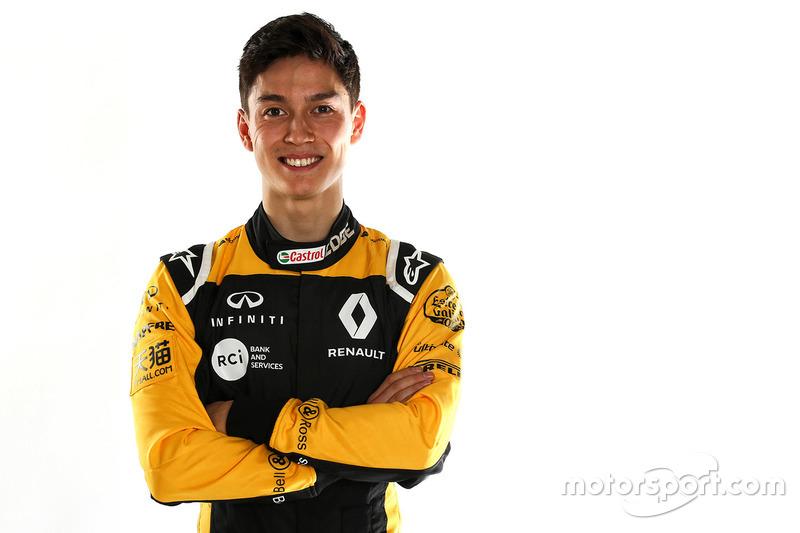 Jack Aitken, tester e pilota di riserva Renault Sport F1 Team