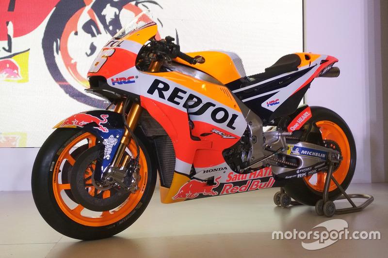 Байк Дані Педроси, Repsol Honda Team
