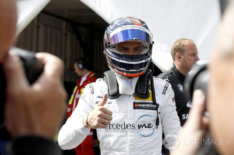 Pole position for Edoardo Mortara, Mercedes-AMG Team HWA