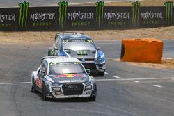 Mattias Ekström, EKS RX Audi S1, Petter Solberg, PSRX Volkswagen Sweden, Volkswagen Polo GTI