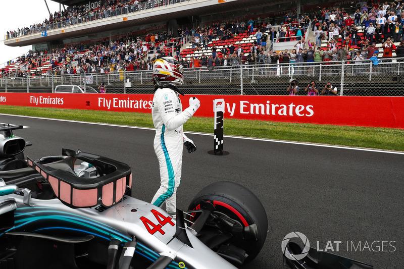 5. GP Spanyol - Pole: Lewis Hamilton