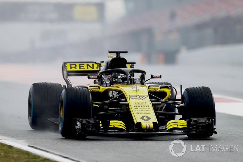 Nico Hulkenberg, Renault Sport F1 Team Team R.S. 18