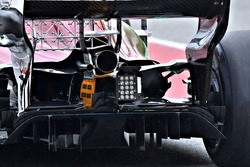 Détails de l'arrière de la Sauber C37