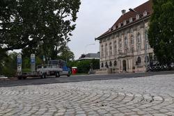 Bauarbeiten an der Strecke in Zürich