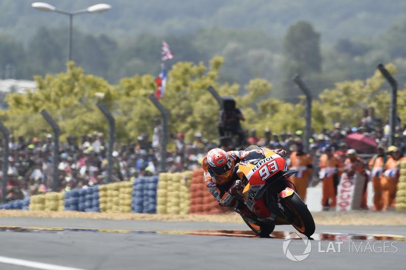 GP de Francia: Marc Marquez, Repsol Honda Team
