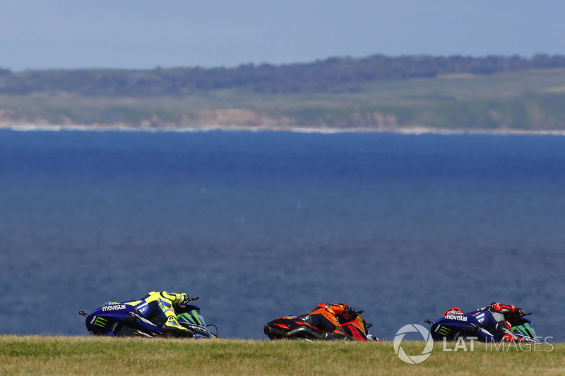 Maverick Viñales, Yamaha Factory Racing, Pol Espargaro, Red Bull KTM Factory Racing, Valentino Rossi, Yamaha Factory Racing