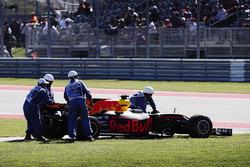 Daniel Ricciardo, Red Bull Racing RB13, abandonne