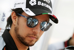 Sergio Perez, Sahara Force India F1 met de media