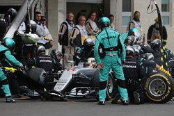 Пит-стоп: Льюис Хэмилтон, Mercedes AMG F1 W07 Hybrid